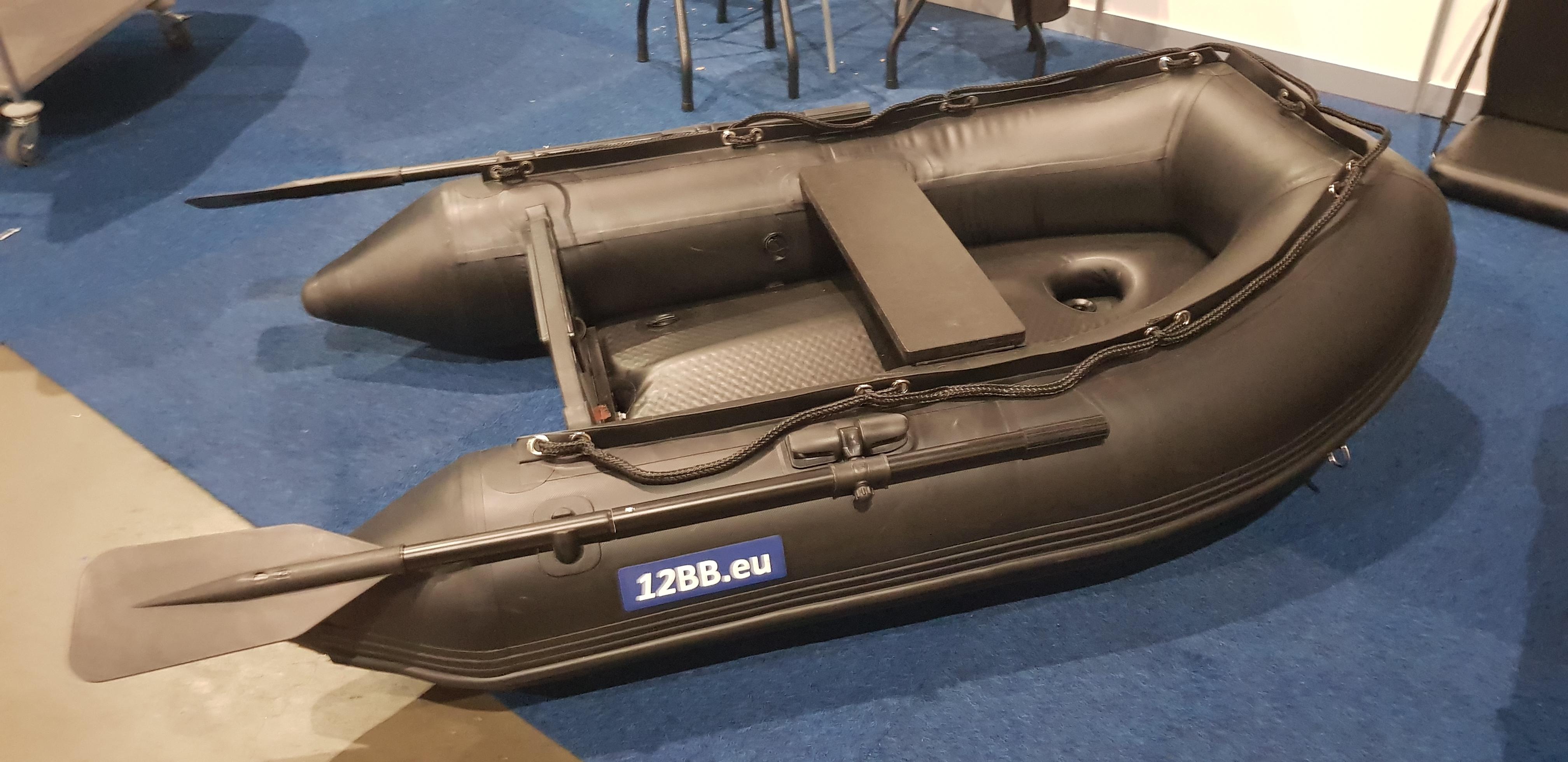 12BB-RIB Gummiboot Typ Schwarz 180 - AIRDECK