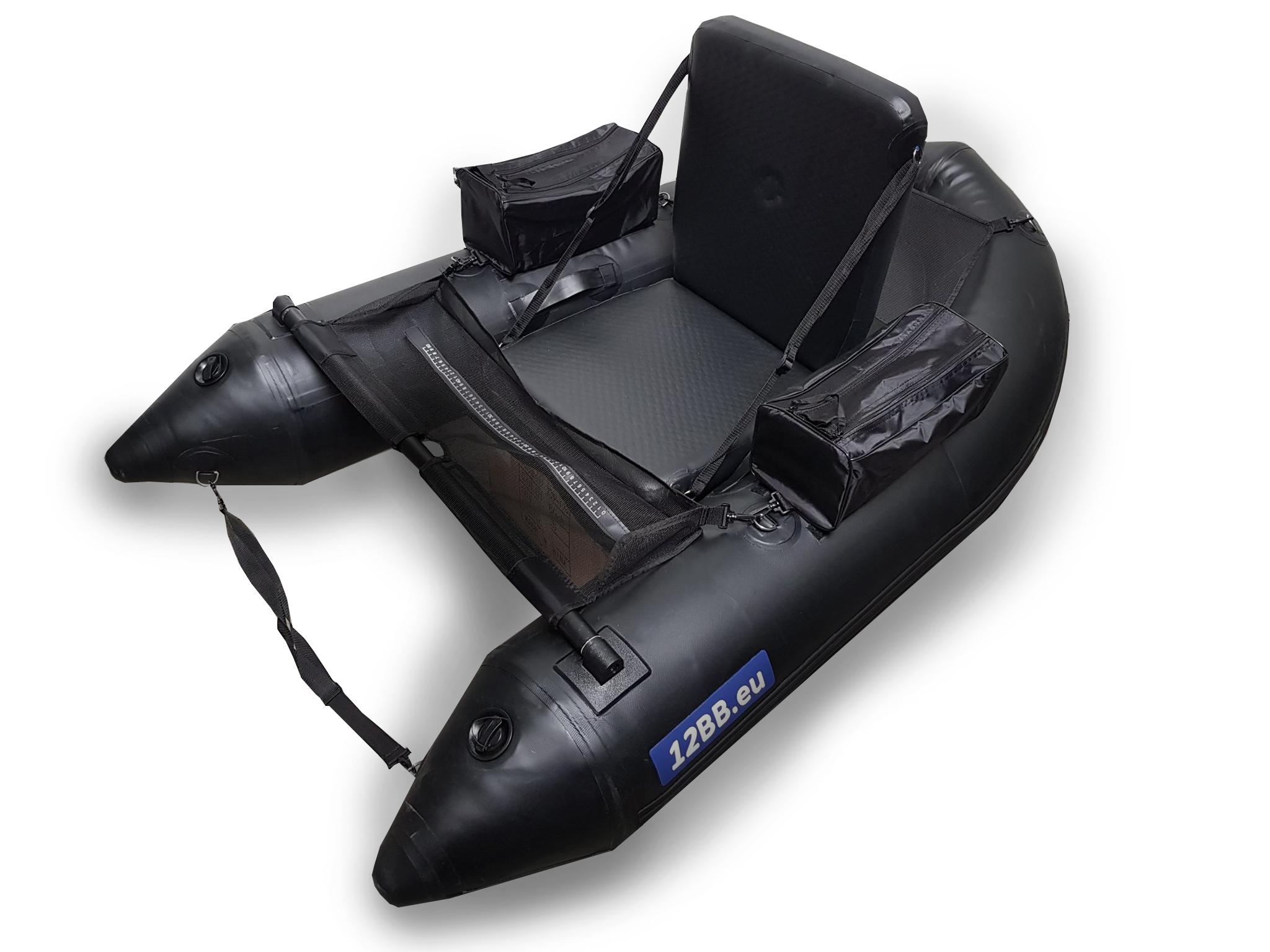 12BB - Belly Boat, type STEALTH NP mit Aufblasbahrem Boden und Sitz (keine Paddel)
