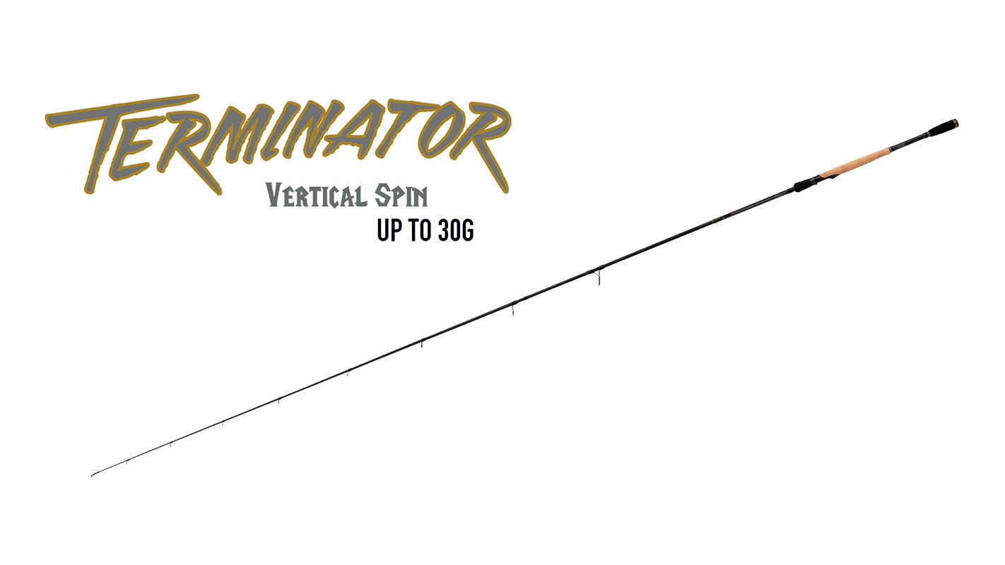 TERMINATOR VERTICAL SPIN ROD UP TO 30G