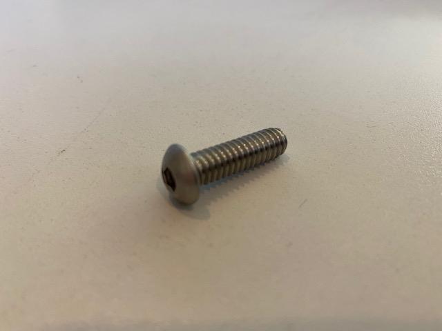 12BB - SCT - Edelstahlschraube Deckmount / Gluepad - Torx (alternativ)