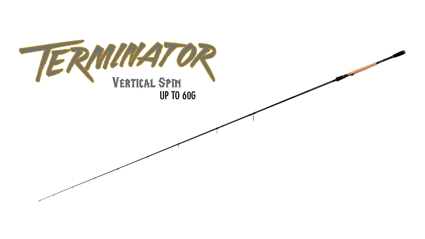 TERMINATOR VERTICAL SPIN ROD UP TO 60G
