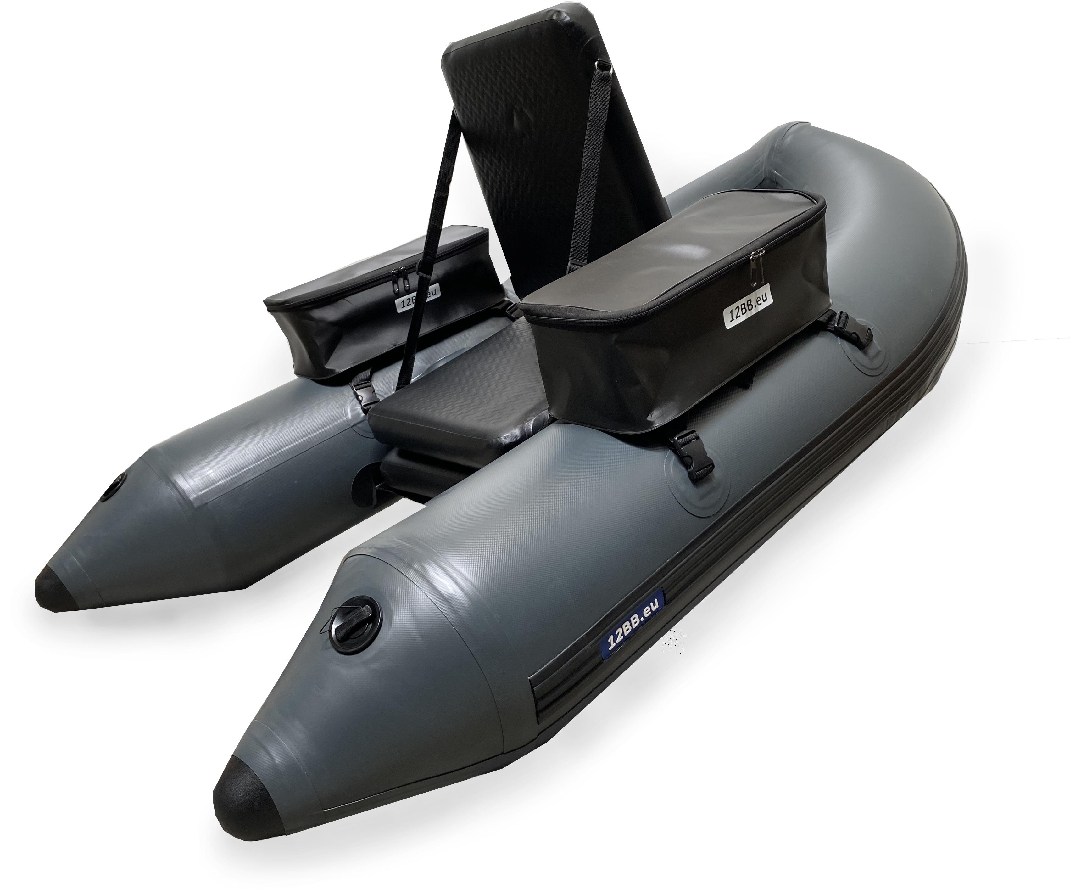 12BB - Bauchboot, Typ PHANTOM NP mit aufblasbarem Sitz und Boden (keine Paddel)