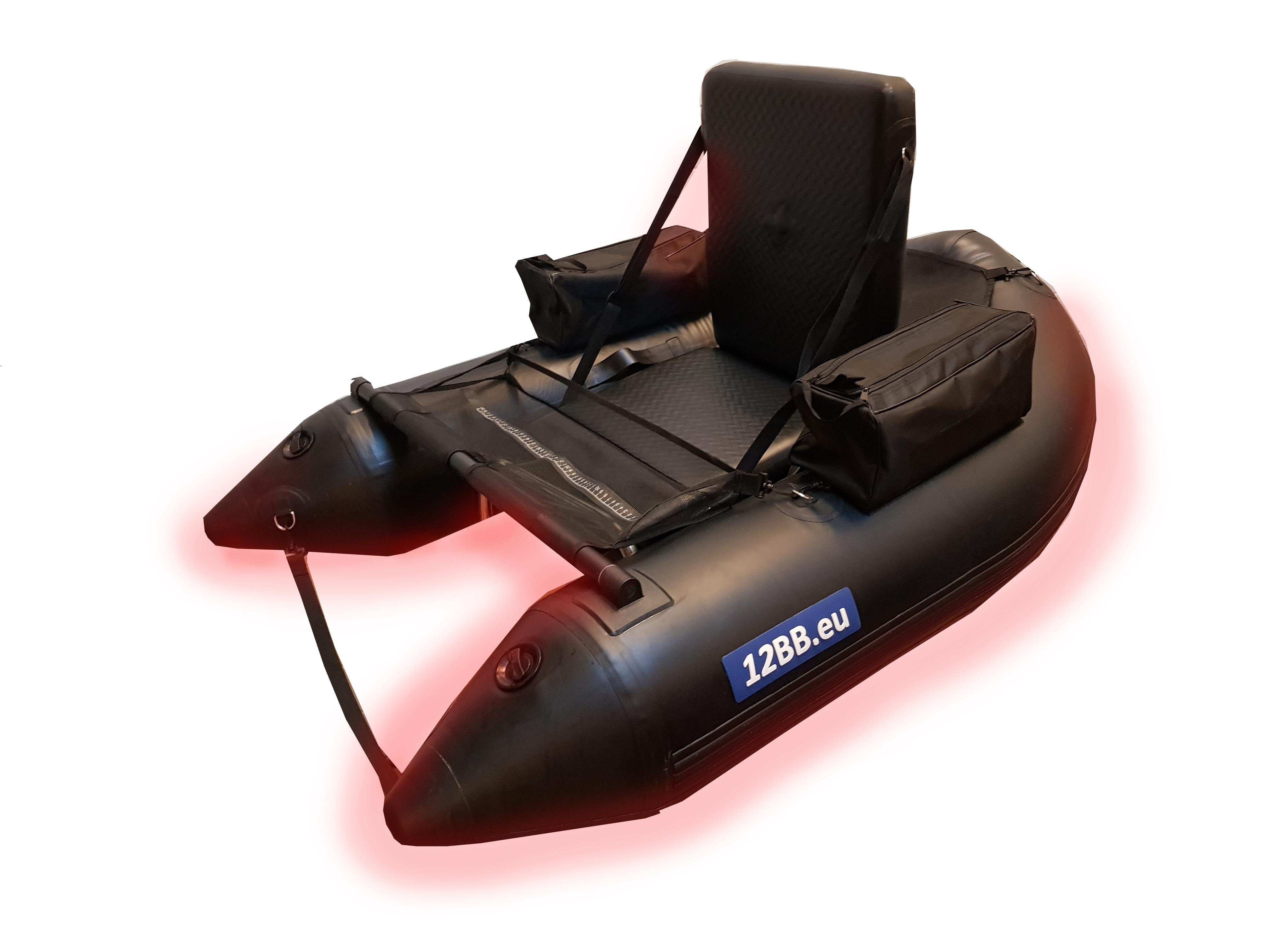 12BB Belly Boat, type BLACK FALCON