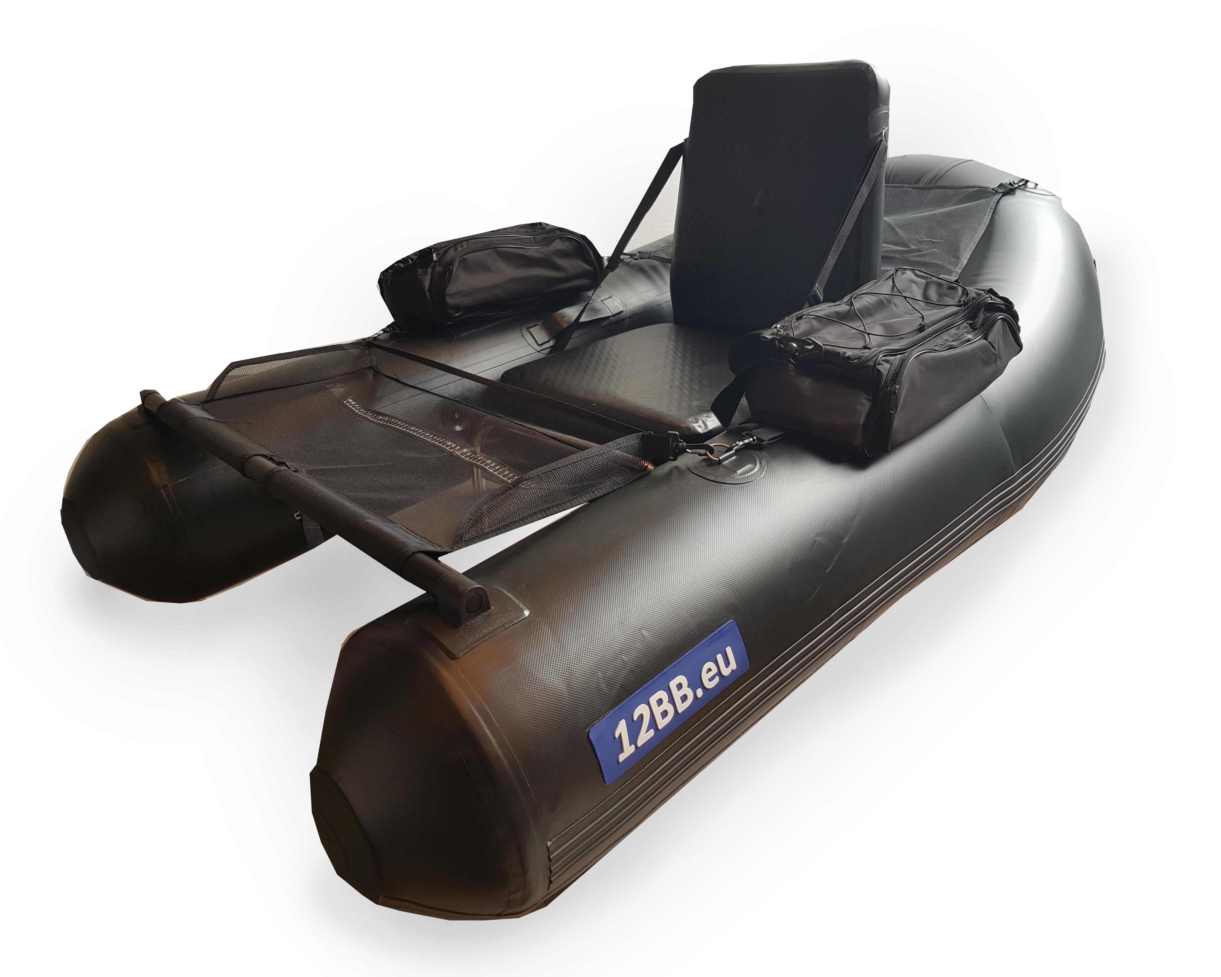 12BB _ Belly Boat, Typ JUMBO NP mit Aufblasbarem Sitz und Boden (keine Paddel)
